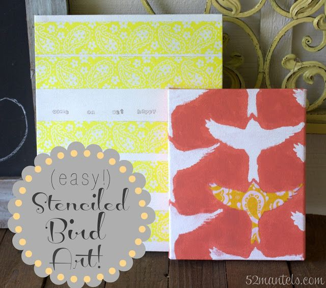 1000 Ideas About Stencil Wall Art On Pinterest Feather