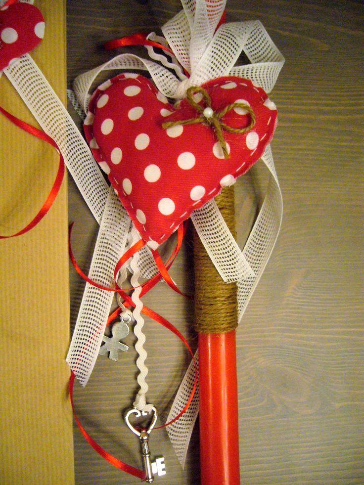 ~ Χειροποίητες ΜικροΚατασκευές ~: Πασχαλινές λαμπάδες 2014 (Μέρος 2ο)