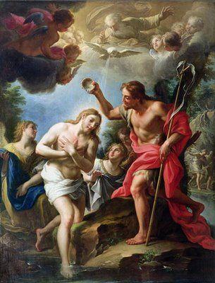 "PATER NOSTER: ""O BATISMO DE JESUS RECORDA A IMPORTÂNCIA DE NOSSO BATISMO""."