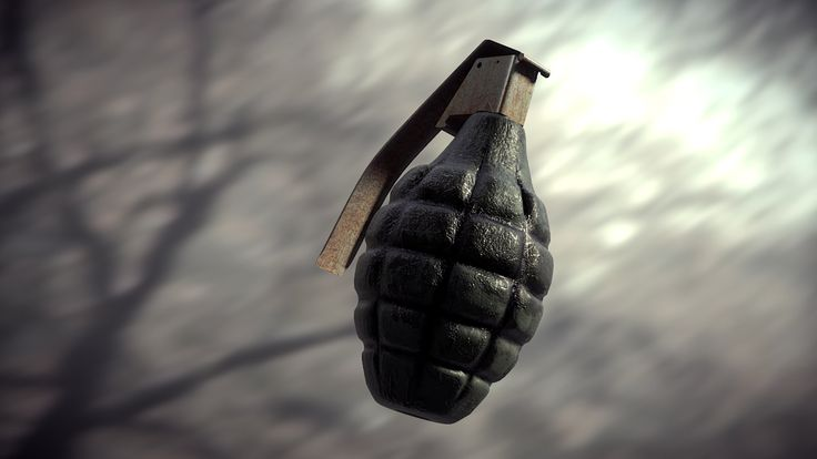 Blender3d: Создание гранаты #1