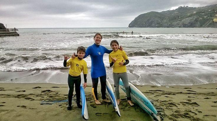Surf Levanto! Surf school and board rentals!