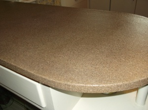 Frugal Home Diy Refinish Your Kitchen Counters To Look
