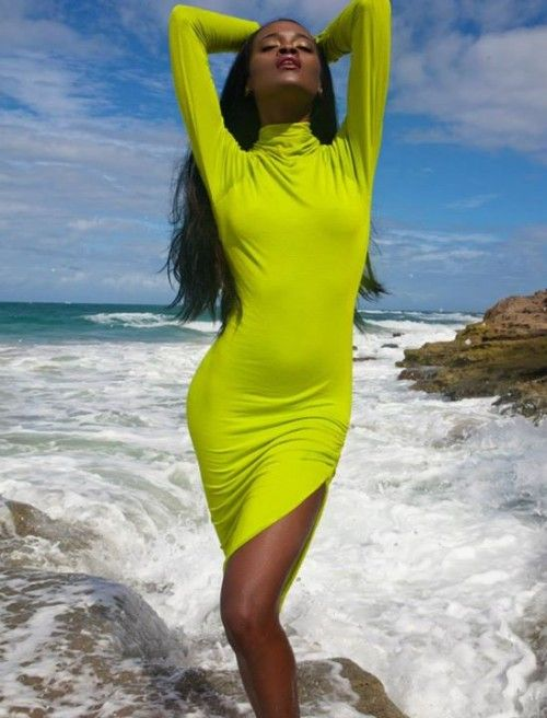 #SwimwearSunday With Hottie Model In South Africa: Shot by Shamayim | FashionGHANA.com: 100% African Fashion