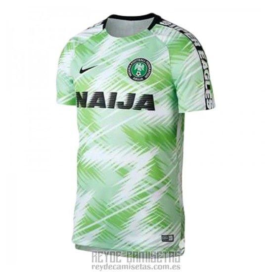 Camiseta De Futbol de Entrenamiento Nigeria 2018 Verde  b6328259961db