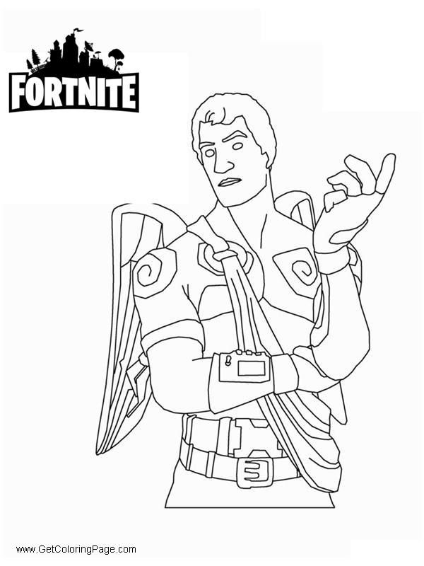 fortnite coloring pages love ranger