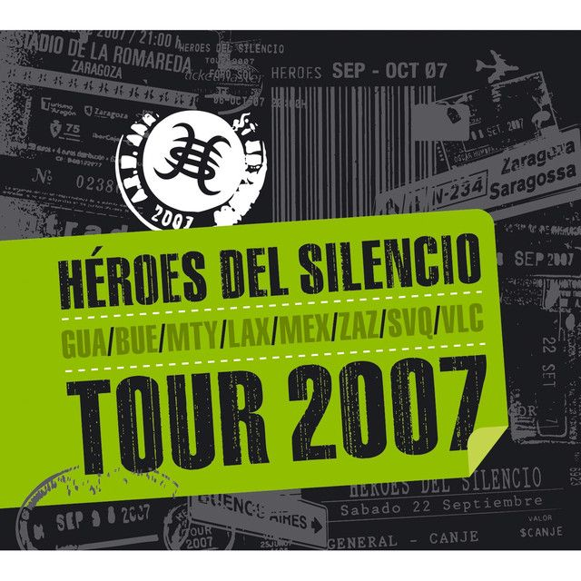 Saved on Spotify: No Más Lagrimas - Live by Heroes Del Silencio
