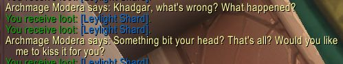 Standing in dalaran and this conversation takes place but i could not find them #worldofwarcraft #blizzard #Hearthstone #wow #Warcraft #BlizzardCS #gaming