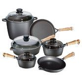 Found it at Wayfair - Tradition 10-Piece Cookware Set