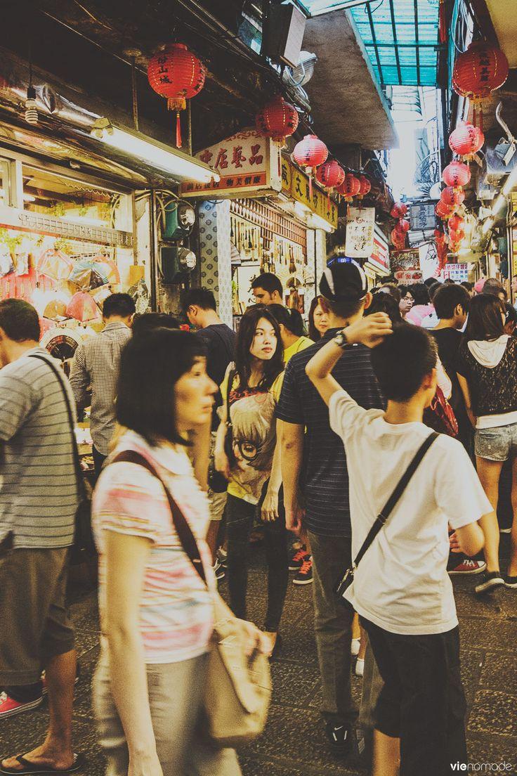 Le marché de Jiufen - Voyage à Taïwan