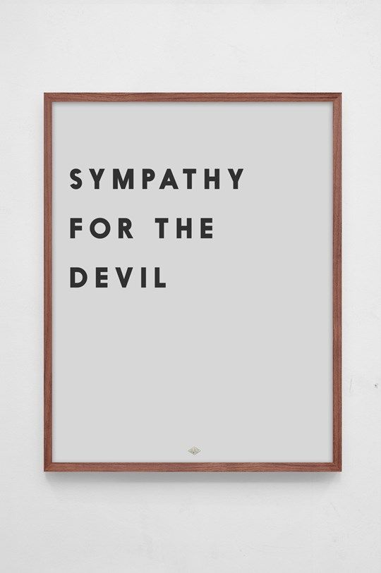 Dank, Essay On Sympathy For The Devil may well ask