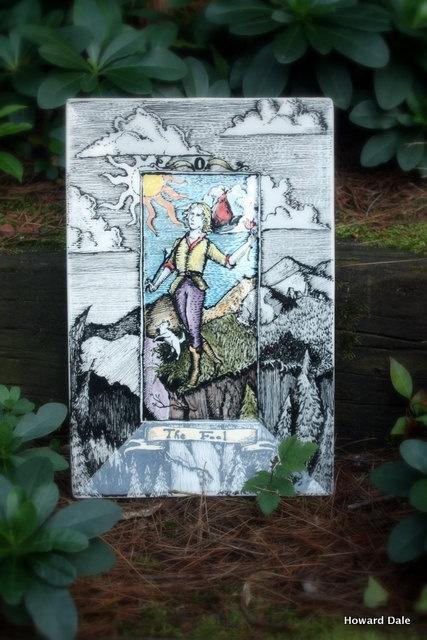 Ceramic Tarot - The Fool