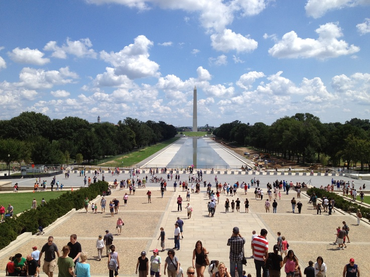 From Lincoln Memorial! (Washington D.C) Great view...