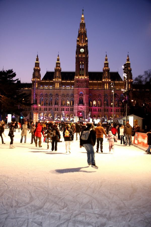 The three most amazing ice skating places in Vienna | news.viennaresidence.com - Vienna apartments blog