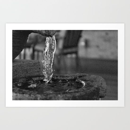Buy Liquid Falls Art Print by MissJayPaints. Worldwide shipping available at Society6.com. Just one of millions of high quality products available.