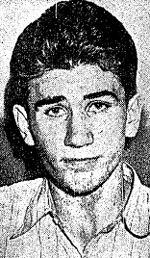 William Heirens by the age of 14  he was arrested for carrying a loaded gun a search of his home would reveal more weapons hidden in a fridge in the loft.