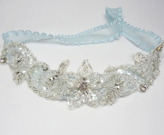 Garter - wedding garter,blue garter, bridal garter, prom garter, something blue on Etsy, $24.34 CAD