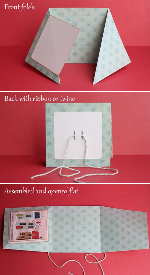 card fold and assembly