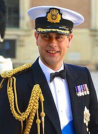 ウェセックス伯爵エドワード王子。イギリス王子の画像