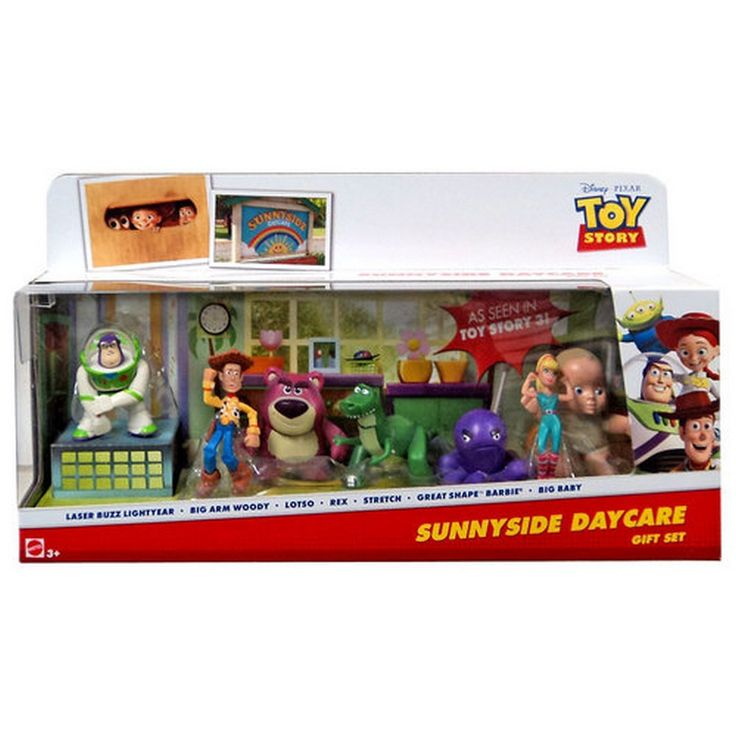 Toy Story Collectible Figure Set [Sunnyside Daycare]