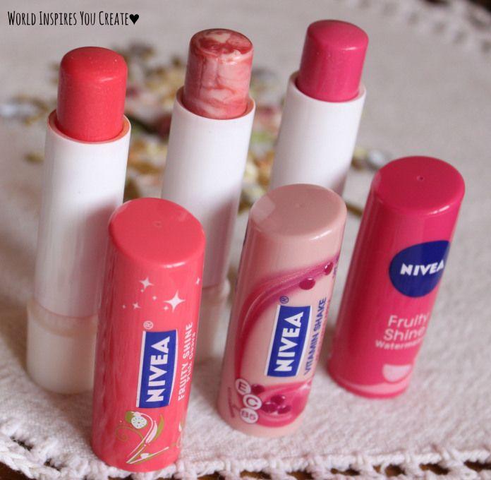 nivea tinted lip balms