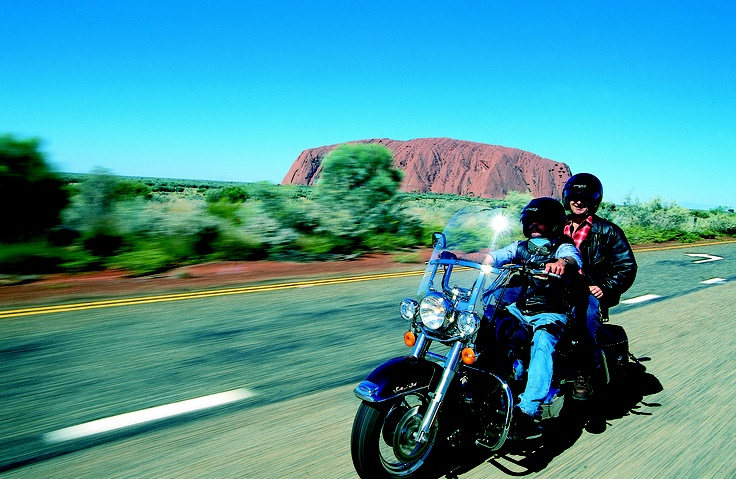 The open Aussie ROAD... Book your own Harley Davidson Bike Tour with Qantas Vacations. Live the dream!