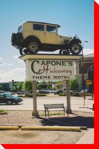 Capone's Car - Moose Jaw, Saskatchewan