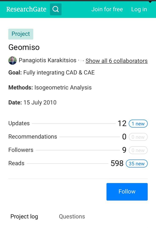 #Geomiso #ResearchGate #FollowUs