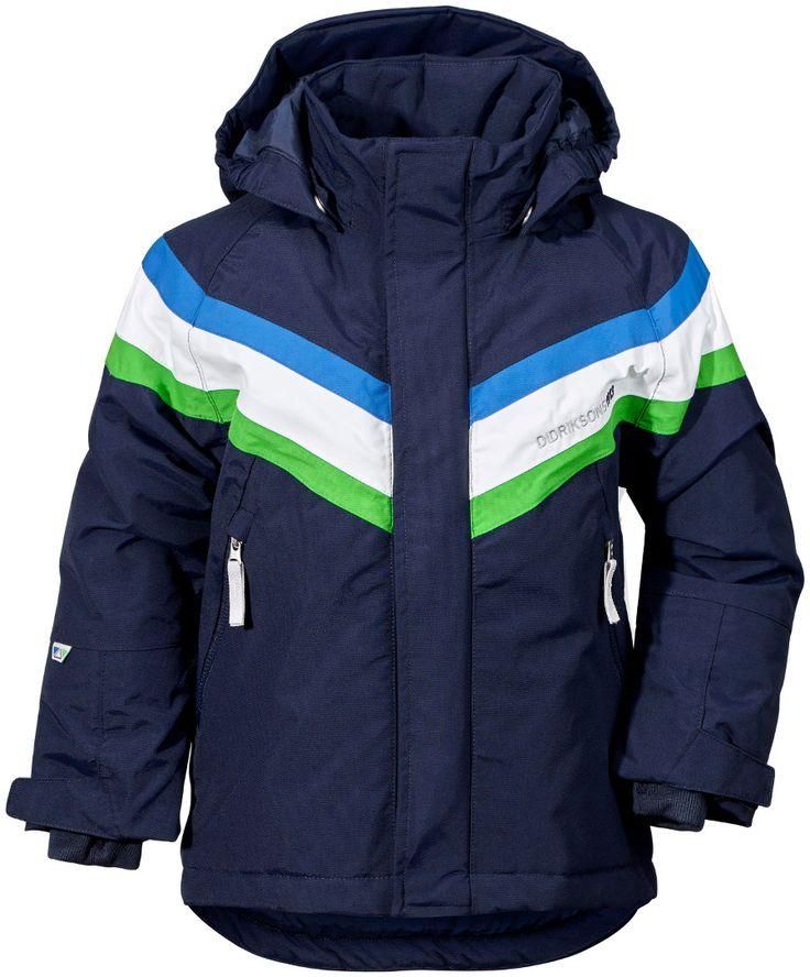Didriksons Safsen Kids Ski Jacket - Navy