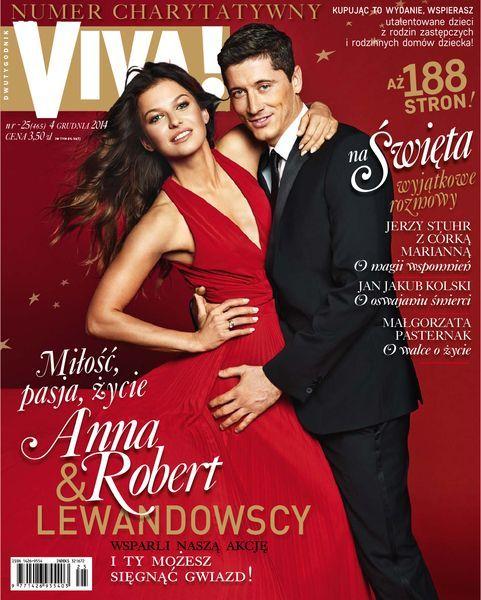 Anna Stachurska, Robert Lewandowski - VIVA Magazine Cover [Poland] (5 December 2014)