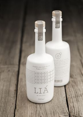 """""""Brand and packaging design for LIA extra virgin olive oil producing company. Source: http://lovelypackage.com/lia-olive-oil/"""