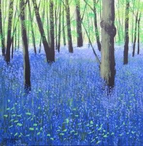 """Bluebell Woodland"" by Terry Wood"