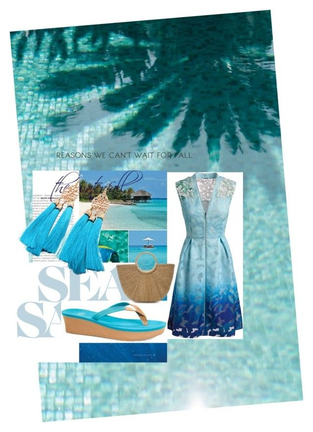 """the waterfall"" by ashikagangwal on Polyvore featuring Elie Tahari and UGG"