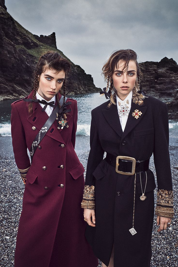 Photography: Mikael Jansson Styled by: Tabitha Simmons Hair: Eugene Souleiman Makeup: Hannah Murray Production: Kate Miller @North Six Model: Edie Campbell & Grace Hartzel