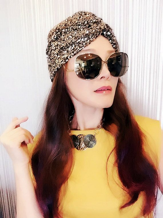 Hey, I found this really awesome Etsy listing at https://www.etsy.com/listing/244675871/sequin-turbanwomens-turbanfull