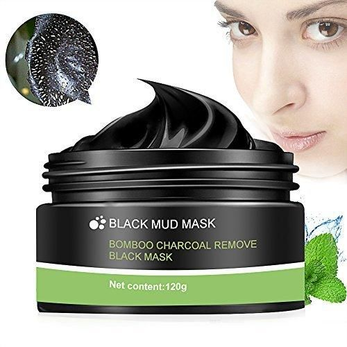 Peel Off Mask Blackhead Peel Off Mask Black Mask Blackhead Remover Mask Deep Cleaning Mask Tearing Style Purifying Mask Active Natural Charcoal Mask Oil-control Anti Pore Acne Treatment (120g)