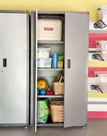 Garage Makeover Ideas - Design Ideas for Remodeling the Garage - House Beautiful
