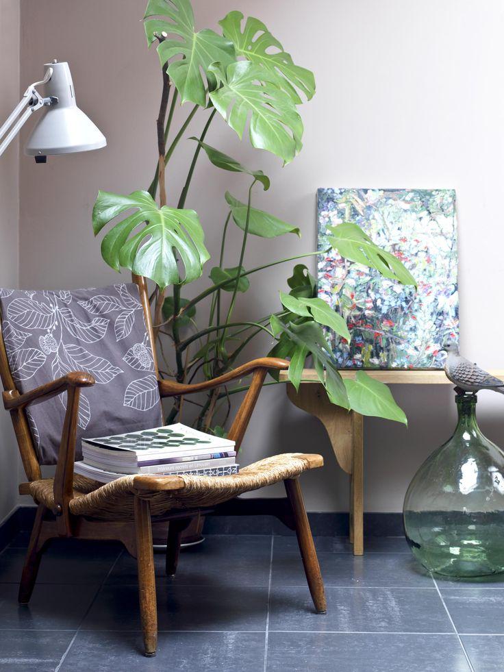 Willem van Wanroij - Schilderij, Interieur door thoben en minten http://www.thobenminten.nl/wordpress/vt-wonen-binnenkijken-thuis-bij-willem-avelien/