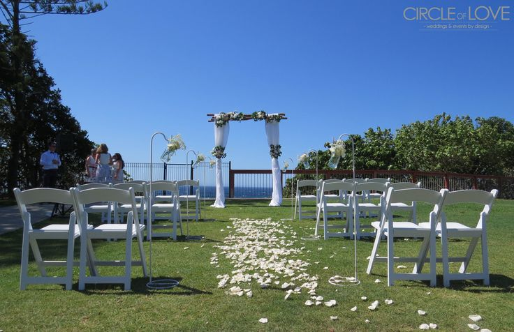 Kirra Hill Wedding Ceremony Coolangatta, Gold Coast