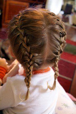 #capelli #pettinature estive per #bambine #bimbe  - http://www.amando.it/mamma/figli/pettinature-estive-bimba.html