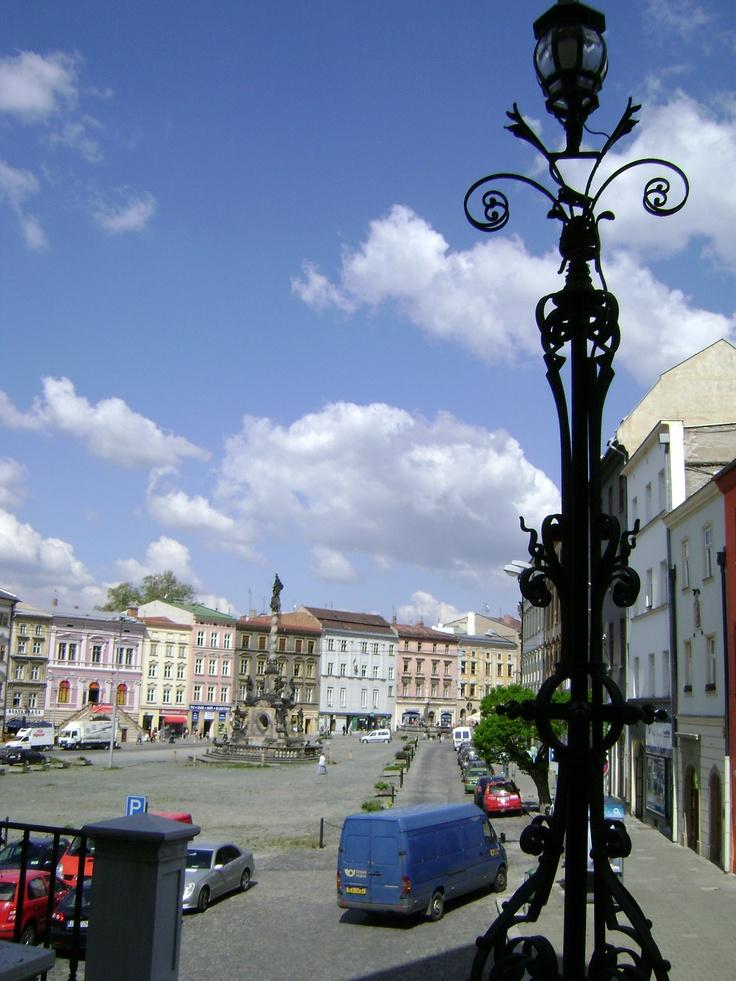 Dolní náměstí, Marian Column, Olomouc