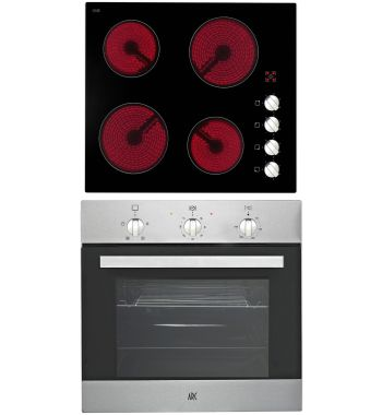 Arc ACPC Multifunction Oven & Ceramic Cooktop Pack | Appliances Online