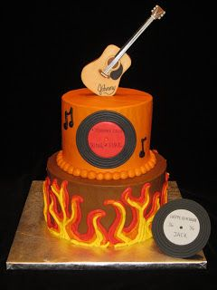 Johnny Cash Cake