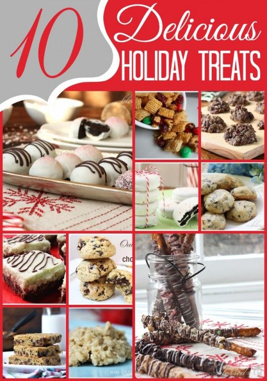 10 Delicious Holiday Cookies & Candy