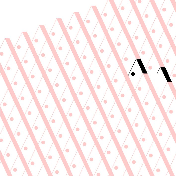 #apointun #pattern #pink #allover #nathanallard