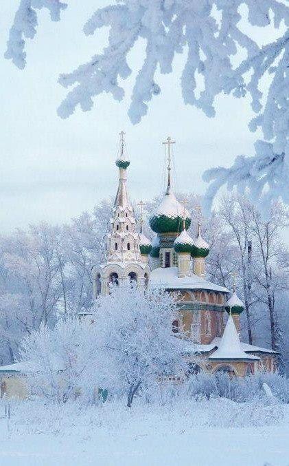 Зимний Ярославль, Россия - Incredible beauty.