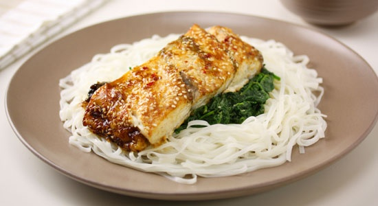 Baked Fish Asian Style Recipe - weightloss.com.au