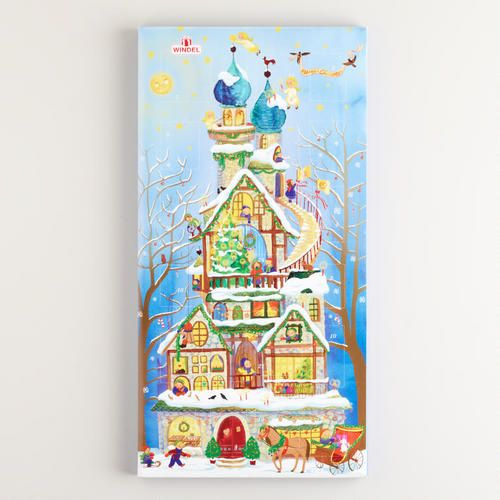 One of my favorite discoveries at WorldMarket.com: Windel Elf Advent Vertical Calendar