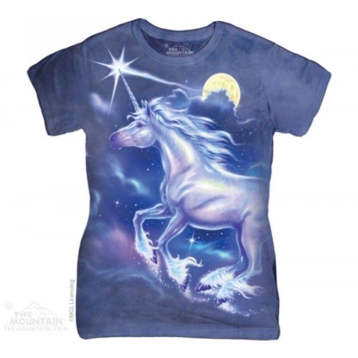 Tricouri The Mountain – Tricou Unicorn Star Dama