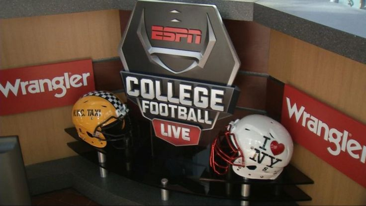 ESPN's College Game Day comes to Times Square Video