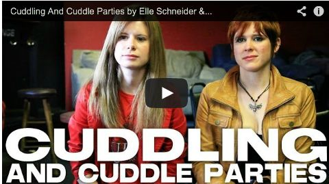 Cuddling And Cuddle Parties by Elle Schneider & Lily Cade via http://filmcourage.com.  More video interviews at:  http://www.youtube.com/user/filmcourage